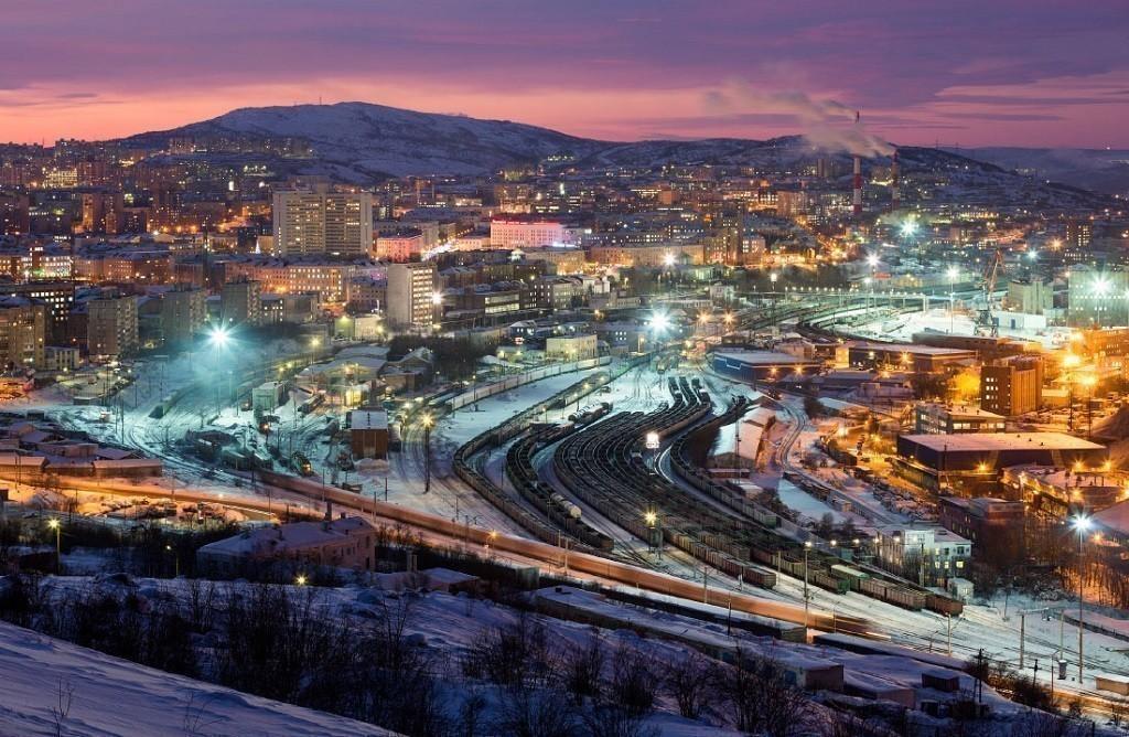 Мурманск: город на северо-западе России