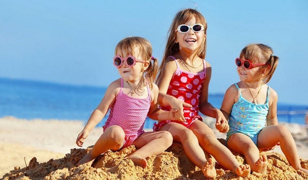10 развлечений с детьми на пляже!