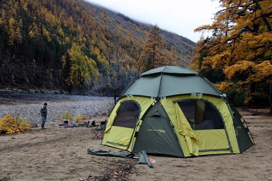 Как вы относитесь к отпуску в палатках, на природе?