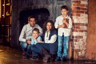 Семейная фотосессия в стиле Прованс