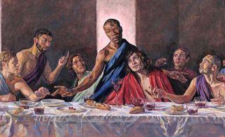 Новости в живописи или почему Иисус был темнокожим