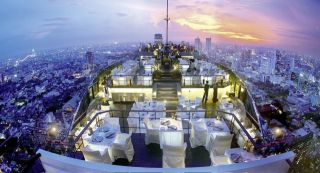 Бангкок с высоты небоскрёбов