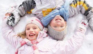 Прогулка с ребенком зимой