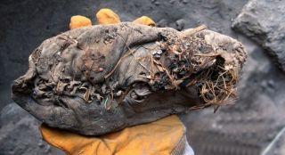 Самая старая пара кожаной обуви на земле
