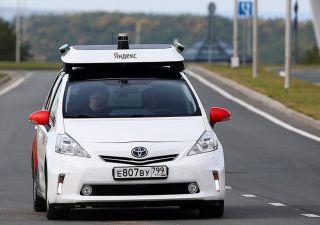 Первое беспилотное такси будет работать на территории Сколково