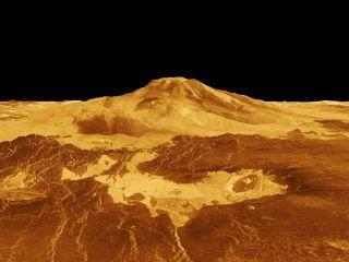 На Венере продолжается вулканическая активность