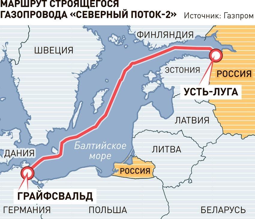 Газовый вопрос: европейцы благодарят США за санкции, а Украина готовит договор с Россией